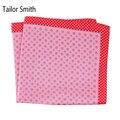Sastre Smith Natural Puro Pañuelo Pañuelo Cuadrado de pañuelo de Seda Impresa Diseñador Nuevo Estilo de Moda de Lujo Para Hombre Formal Accesorio