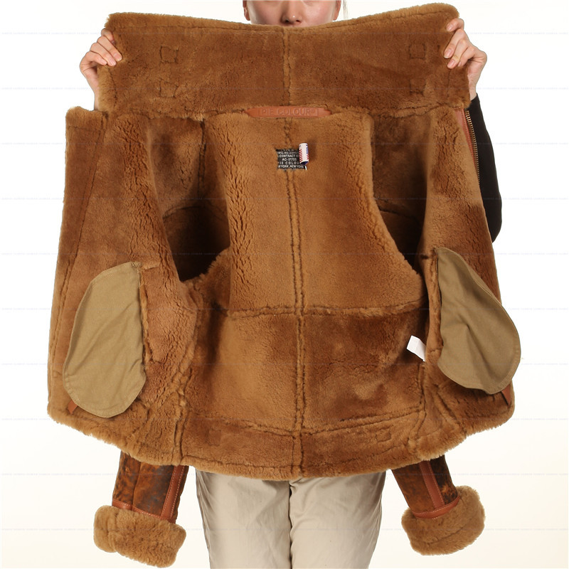 ambientale military aria shearling