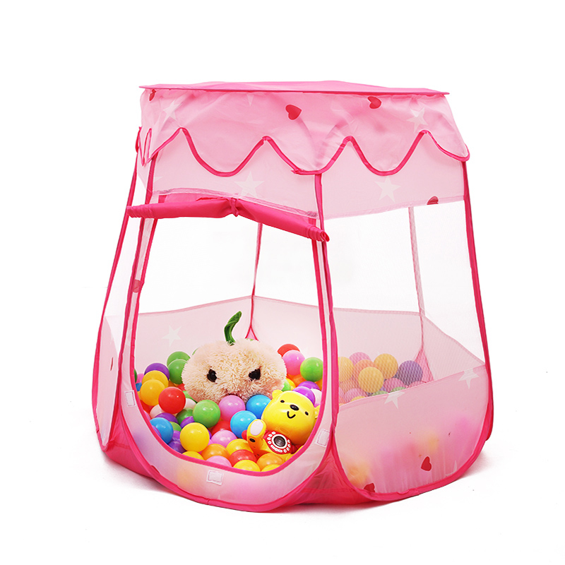 Kid Tent Safe Play House Playpen Balls Indoor Ball Pool Princess Play Tent For Kids Mesh Baby Playpen Play Yard Tienda Corralito