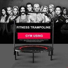 """4"""" Складной батут для упражнений, фитнес-батут, перемотка для дома, в помещении, для тренажерного зала, кардио, прыжка, для тренировок, стабильный тренировочный инструмент, максимальная нагрузка 150 кг"""