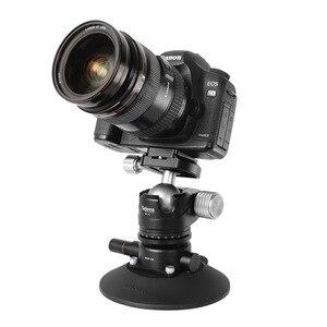 Image 2 - Selens 5.9 inç güç kavrama vakum vantuz kamera yatağı sistemi DSLR kamera Video akıllı telefon Gopro