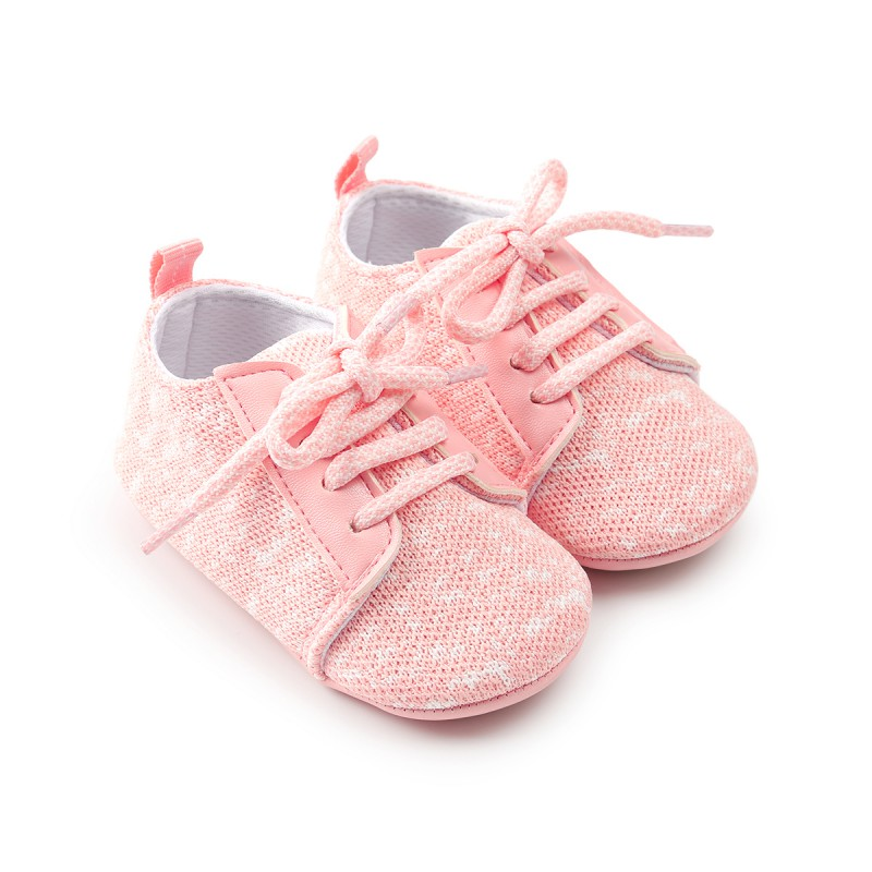 2018 Spring First Walkers Cotton Toddler Baby Shoes Girls Boys First Walkers Bebe Baby Breathable Newborn Baby Moccasins Crib Sh