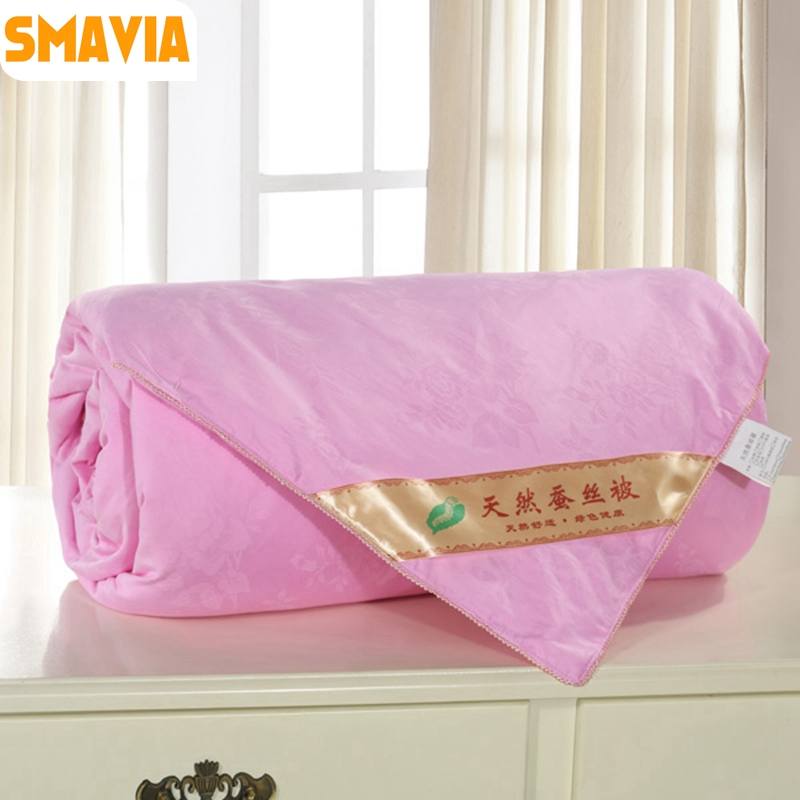 Embossing Fabric Book Cover : Smavia premium chinese mulberry silk quilt