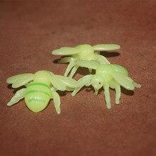 PVC figure Doll model toy The simulation model toy bee luminous white mold 10pcs/set