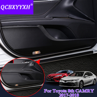 QCBXYYXH For Toyota 8th Camry 2017 2018 Car Styling Protector Side Edge Protection Pad Protected Anti