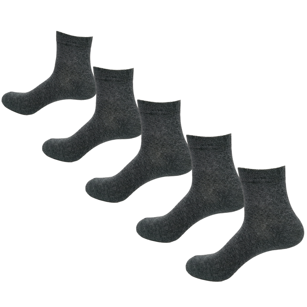 Men   Socks   Cotton Comfortable 5 Pairs/Set Boys Breathable Antibacterial Dropshipping
