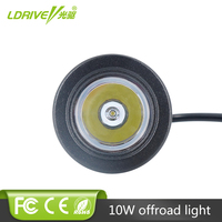 LDRIVE 10 W Cree Chip LED 12 V 24 V Car Auto SUV ATV 4WD AWD 4X4 Motorbike Wagon Offroad Licht Voor Dodge Ford Land Rover