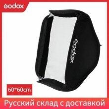 Godox 60x60 cm pliable boîte souple Godox adapté pour support de type S caméra Flash (60x60 cm Softbox seulement)