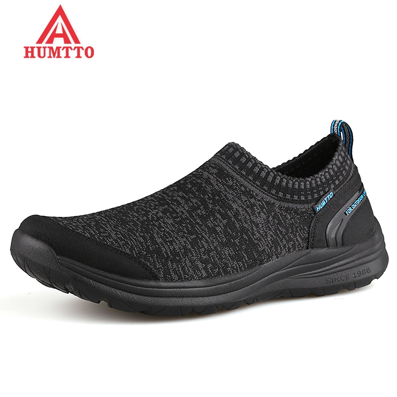 HUMTTO Breathable Man Sneakers DMX Cushioning Men Running Shoes Spring and Autumn Slip-on Male Light Walking Sport Jogging Shoe peak sport speed eagle v men basketball shoes cushion 3 revolve tech sneakers breathable damping wear athletic boots eur 40 50