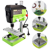 220V High Quality Mini Grinder DIY Electric Hand Drill Machine Accessories Variable Speed Drill Press,Pearl Drilling Machine