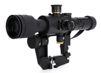 Tactical Red Illuminated 4x26 PSO 1 Type Riflescope For Dragonov SVD Rifle Series Sniper Scopes AK