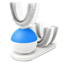 U-Shape Automatic Sonic Electric Toothbrush 360 Degrees Ultrasonic Teeth Cleaner For Lazy People Electric Toothbrush New