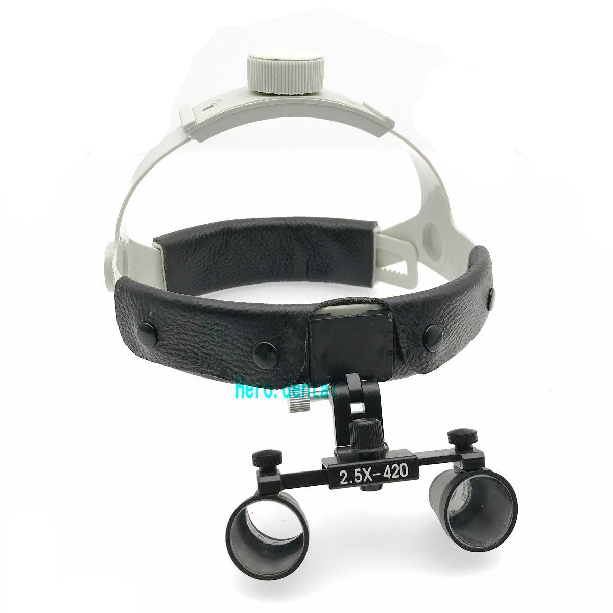 2.5X-R Dental Surgical Medical Headband Binocular Loupes Magnifier Black кольцо 1979 11 r