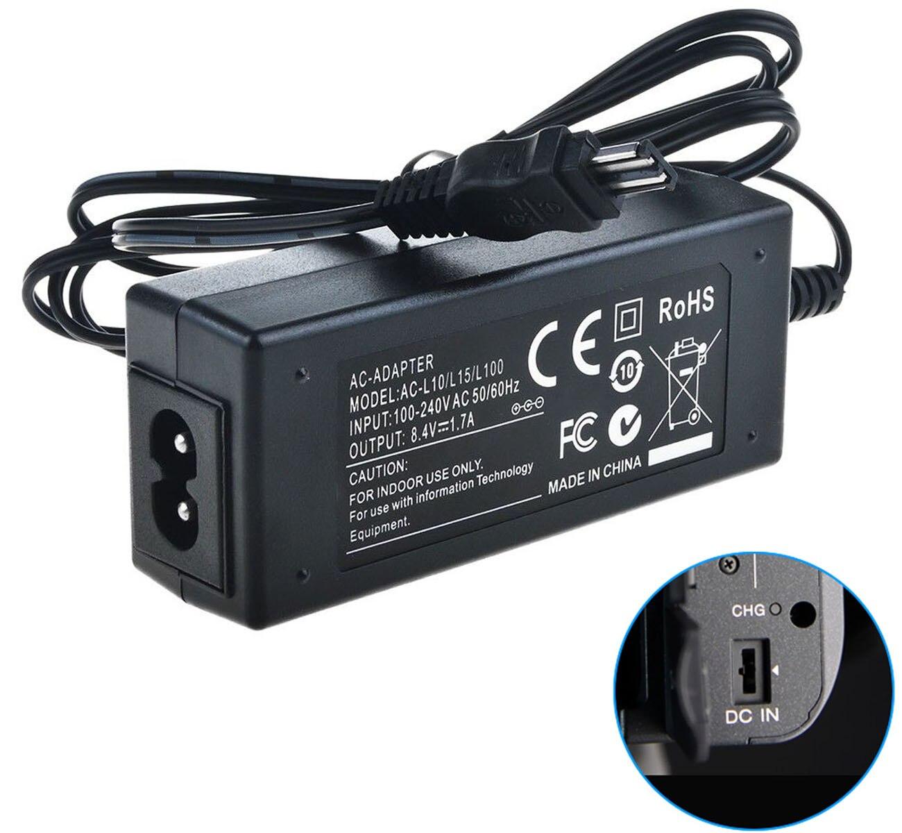 Cargador cable de alimentación para Sony dcr-trv230e