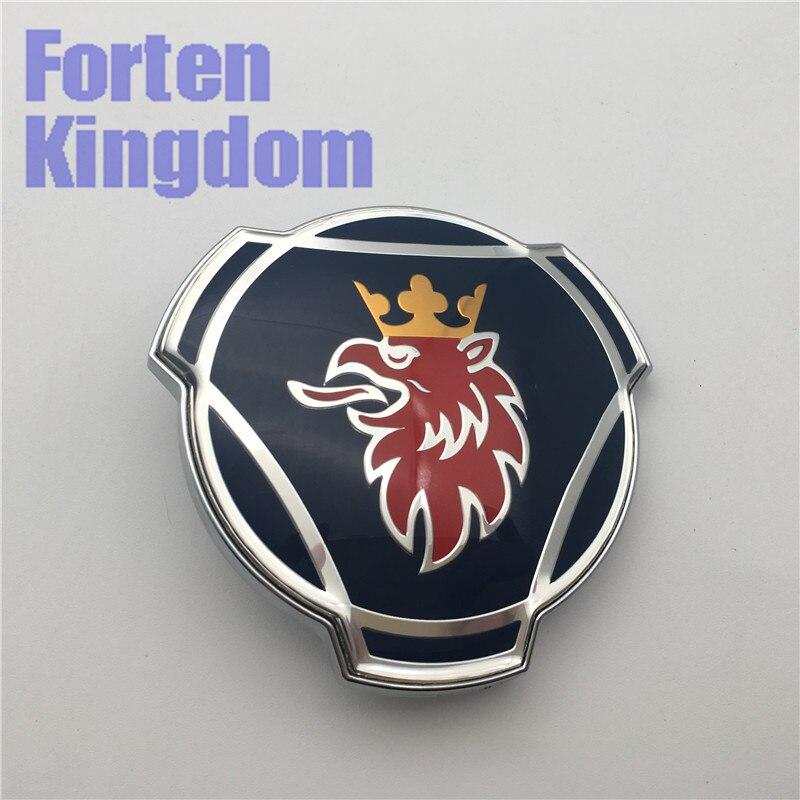 Forten 王国 20 ピーススカニア 80 ミリメートルブルー ABS 車のトラックフロントグリルグリルフードエンブレムバッジ 1401610 バルク販売  グループ上の 自動車 &バイク からの エンブレム の中 1