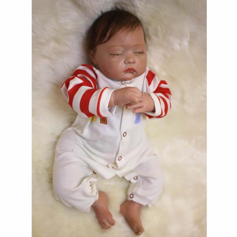 43bfc194c KEIUMI 20 inch Sleeping Reborn Baby Girl Doll Realistic Red Skin ...