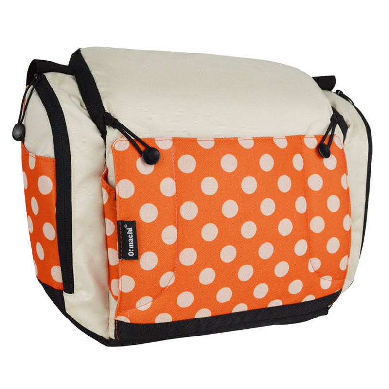 Bolsa portátil para pañales, bolsa para cochecito, bolsa plegable para cuna, bolsas para bebé, bolsas para mamá, cama de viaje para bebé de almacenamiento de - 4