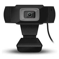 Веб-камера USB 12 мегапикселей Высокое разрешение Камера веб-360 градусов встроенный микрофон для Skype компьютер для Android ТВ
