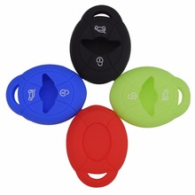 2 Buttons Silicone Remote Key Clicker Key Cover Case For BMW Mini Cooper S R50 R53