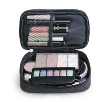 Multifunction Double Layer Makeup Case Women Travel Cosmetic Bag Pouch Toiletry Organizer
