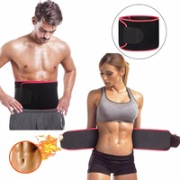 Waist Trimmer Premium Weight Loss Belt For Men Women Workout Sweat Enhancer Exercise Adjustable Wrap For