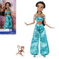 Оригинальные куклы милый Аладдин Жасмин Классическая принцесса кукла фигурку игрушки коллекция подарок на день рождения игрушки для детей