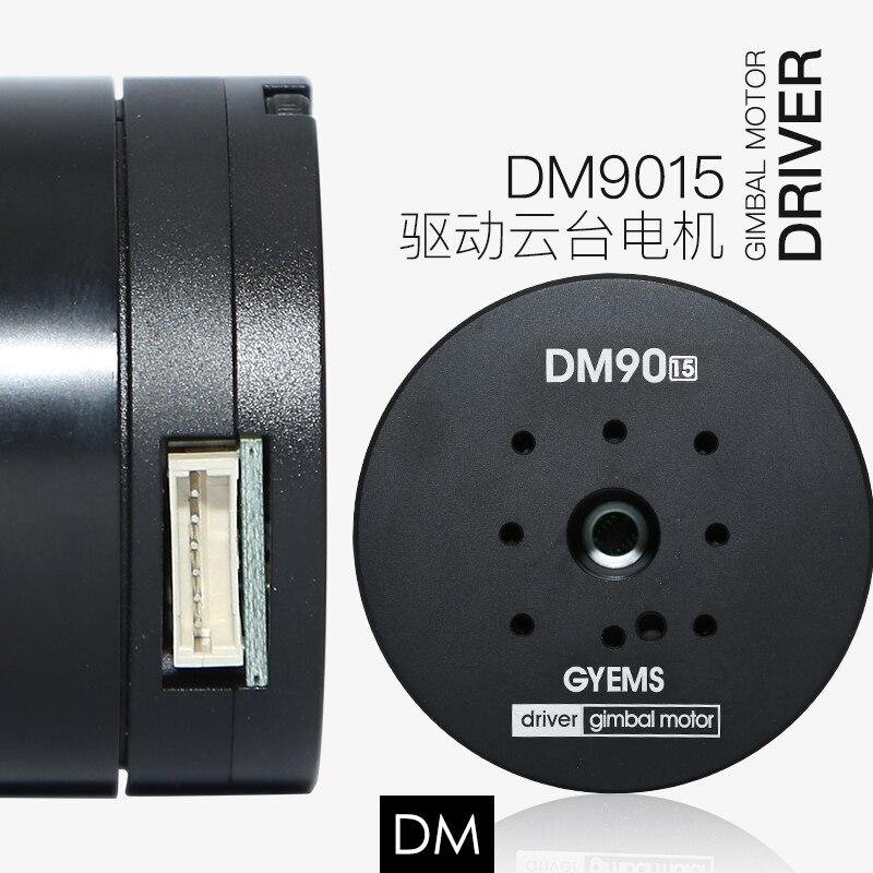 DM 9010 9015 built driver encorder gimbal brushless servo motor for robot arm gimbal foc controller