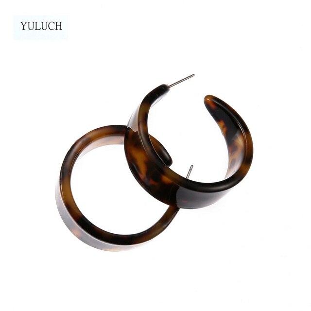 Купить серьги yuluch полимерная серьга 2017 новый дизайн двойная с