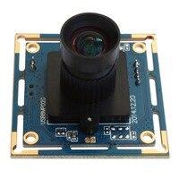 ELP 8MP HD High Speed USB 2 0 Sony IMX179 Board 8mm Lens CCTV PC Webcam