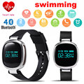2016 New Arrival E08 Smart Wristband Swimming Bracelet Dynamic Monitor IP67 Waterproof Facebook WhatsApp Message Remind PK A06