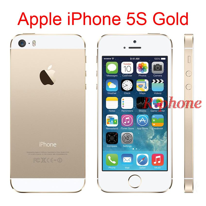 wifi calling iphone 5 original 4g iphone 5s gold mobile phone dual 4 quot 8mp 5031