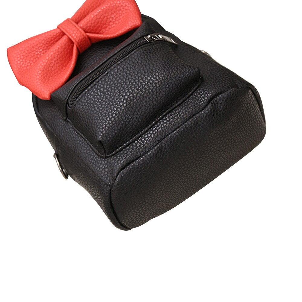 HTB1hE0dCuGSBuNjSspbq6AiipXaJ 2018 New Mickey Backpack Pu Leather Female Mini Bag Women's Backpack Sweet Bow Teen Girls Backpacks School Lady Bag Shoulder bag