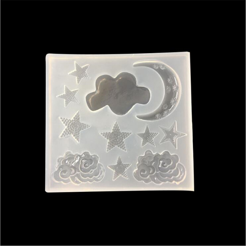 4pcs/lot Star Feather Bow Silicone Mould DIY Resin Decorative Craft Jewelry Making Mold epoxy resin molds