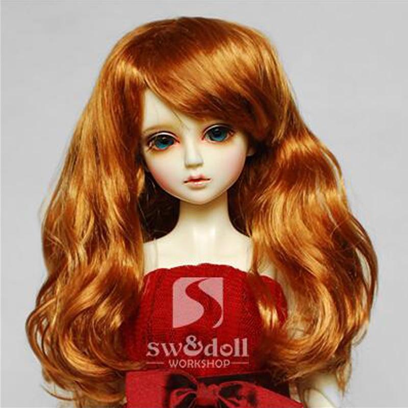 1PCS Hot Sale SD BJD Doll Wig Curly Wig For Dolls BJD 1/4 1/6 1/3 1pcs hot sale sd bjd doll wig curly wig for dolls bjd 1 4 1 6 1 3