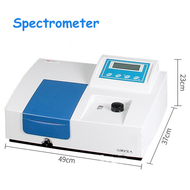 Laboratory Spectrometer Ultraviolet Visible Spectrophotometer with LCD Display UV Visible Light 752N