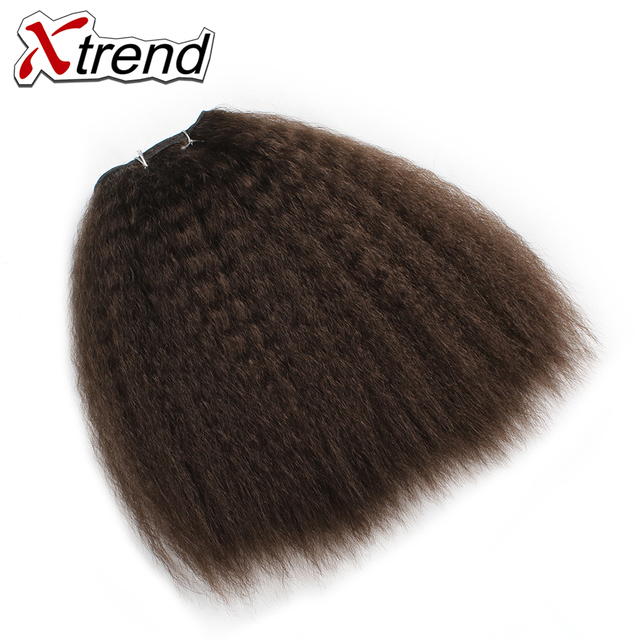 Aliexpress Buy Xtrend Kinky Straight Synthetic Hair Weave