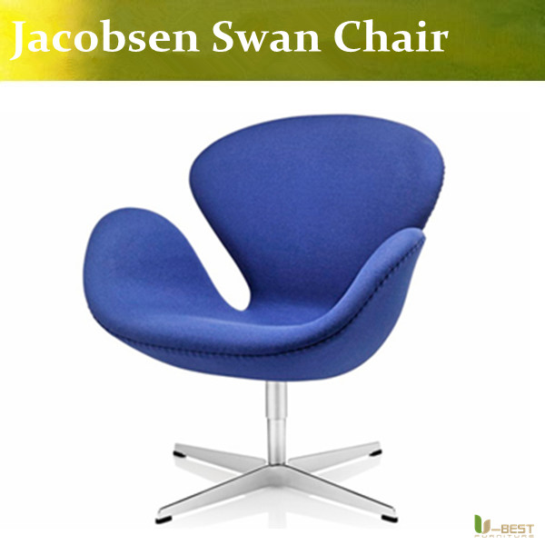 U-BEST High Quality Swan Chair,Arne Jacobsen purple Chair in fabric with swivel function free shipping 20mm rail tactical 4x magnifier quick flip scope w flip to side mount fit for holographic sight