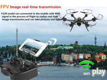 2016 Novelty design Feilun fx120 6 Axis Wifi FPV real-time transmission 45.3am large RC Drone with HD Camera RC quadcopter toy