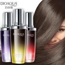 BIOAQUA духи Уход за волосами эфирное масло чистое аргановое эластичное ремонт увлажнителя Сыворотка для волос типы волос улучшение лечения волос