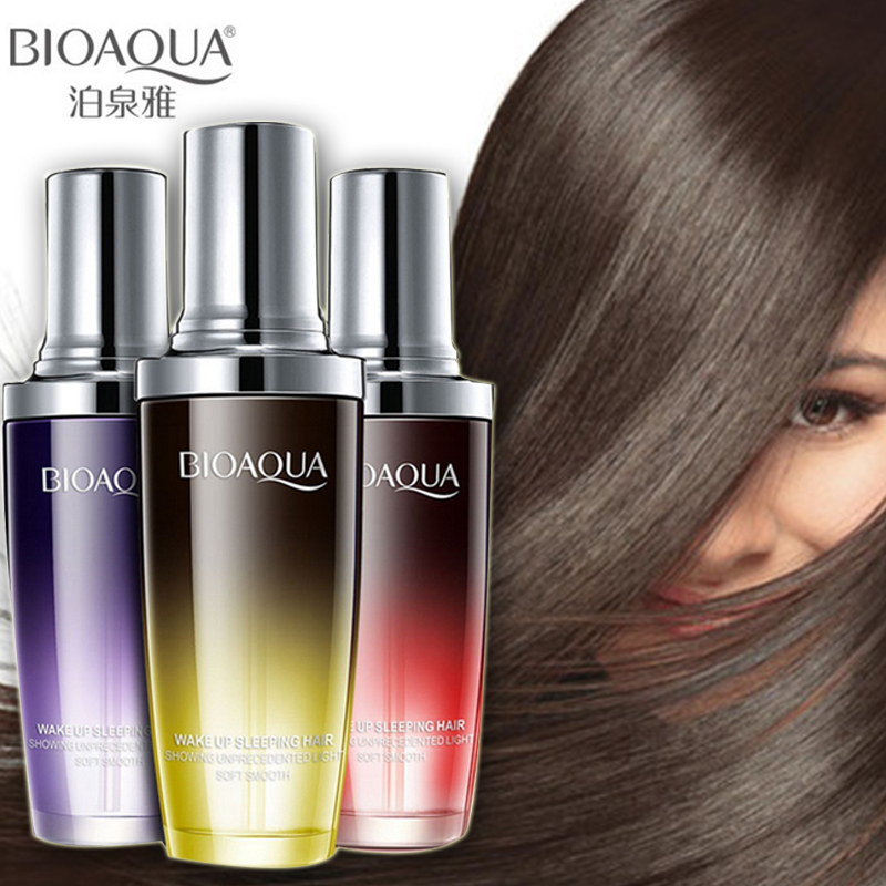 BIOAQUA Perfume Hair Care Essential Oil Pure Argan Supple Moisturizer Repair Hair Serum Hair Types Improve Hair Treatment