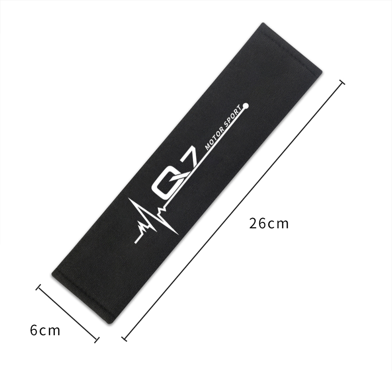 Image 5 - Car Styling Interior Decoration Seat belt shoulder cover for Audi A4 B6 B8 B7 A6 C5 C6 C7 A3 A5 Q3 Q5 Q7 accessories Car Styling-in Car Stickers from Automobiles & Motorcycles