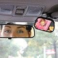 Tirol t22614b mini bebê espelho retrovisor do carro 2 em 1/Traseira do carro Espelho Convexo para o Bebê Do Carro Ajustável Espelho da Segurança Do Bebê