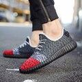 Горячая продажа мужская повседневная обувь комфорт ПУ зашнуровать уличной обуви моды для мужчин дышащий Легкие Кроссовки K289