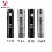 WHEEL UP V6 200 400 Lumens Mini USB Rechargeable Bike Light Front Handlebar Cycling Light Flashlight