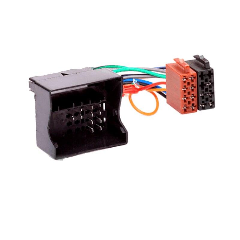 Auto Radio estéreo ISO conector del arnés de cableado de Cable adaptador para Opel Vauxhall Corsa GTC Meriva Movano Vectra Vivaro Zafira