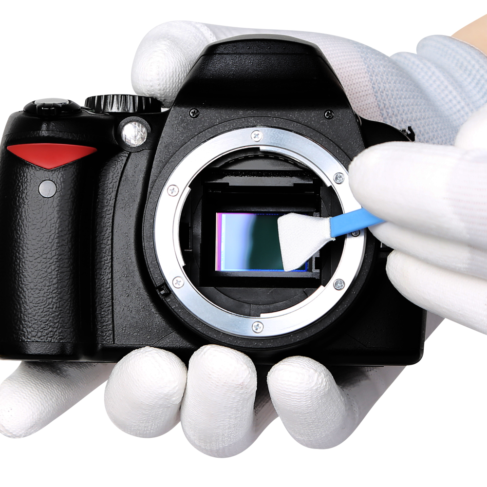 Camera & Photo CCD/CMOS Cleaning Swab Suit VSGO Sensor Cleaning Kit DDR-16 For APS-C DSLR Sensor Cleaning(China)