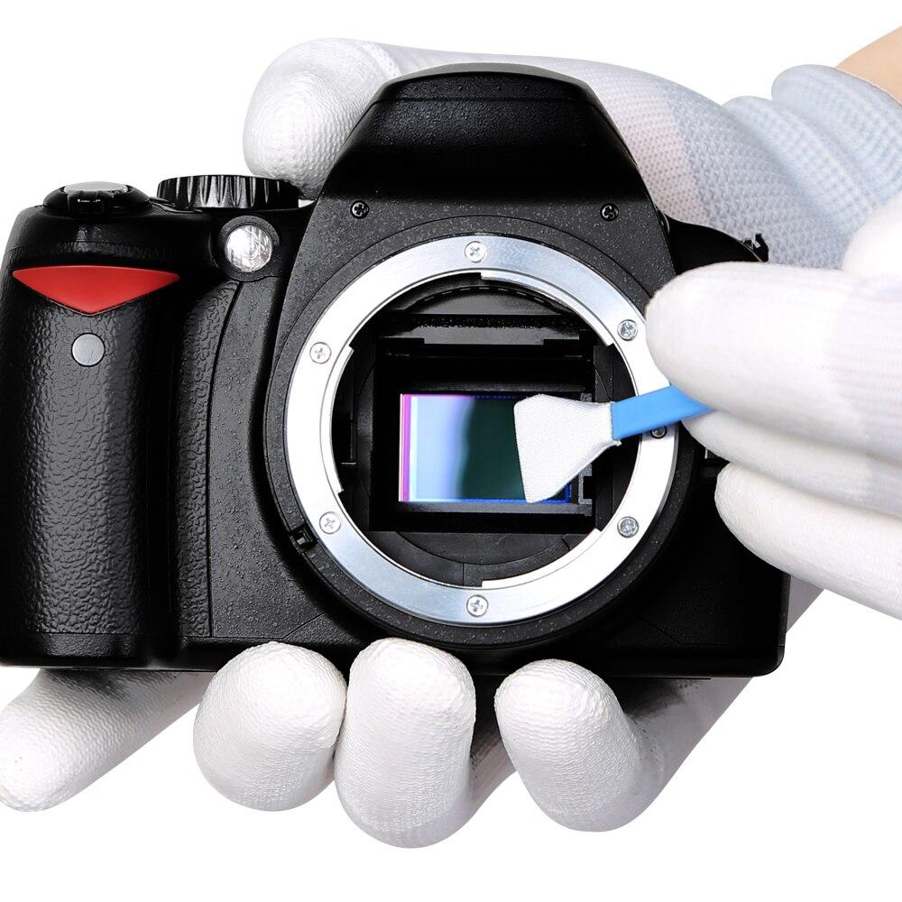 Cámara foto y CCD/CMOS limpieza muestra traje VSGO Kit de limpieza Sensor DDR-16 para APS-C DSLR de limpieza Sensor