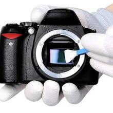 Kamera ve Fotoğraf CCD/CMOS Temizleme Çubuğu Takım Elbise VSGO Sensörü Temizleme Kiti DDR 16 için APS C DSLR Sensör Temizleme