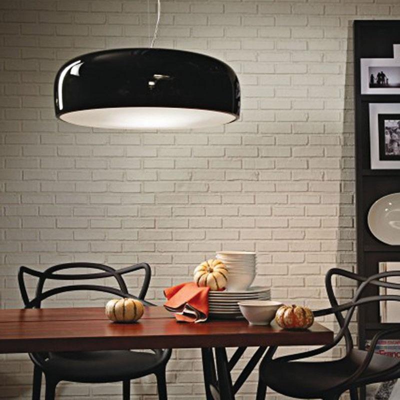 italian pendant lighting. minimalism italian designer modern led pendant lights for dining room bar shop coffee white black hanging lighting