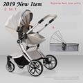 Bolina Бесплатная доставка Детская коляска прогулочная коляска 2018 Новая 2 в 1 коляска аналогичная Aulon